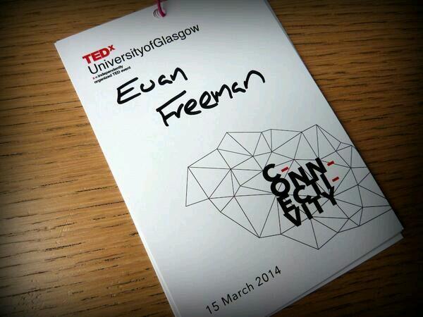 TEDx badge