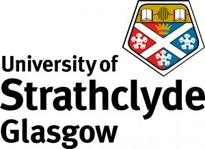 University of Strathclyde logo.